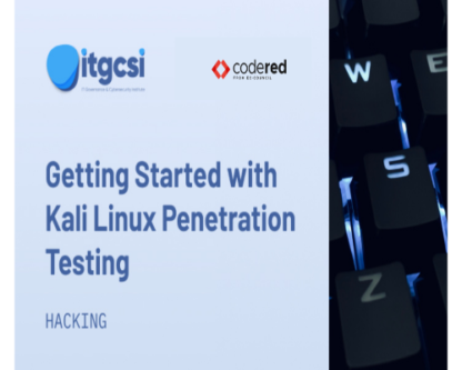 getting started with kali linux penetration testing
