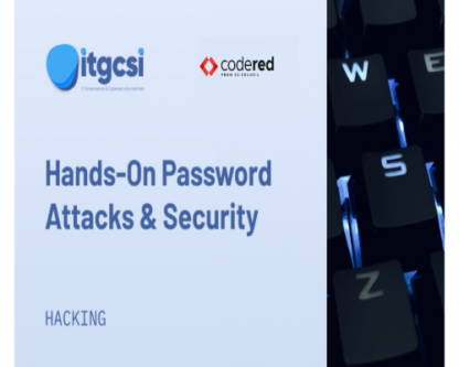 hands-on password attacks and security