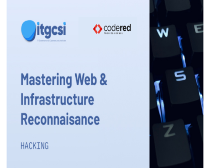 mastering web & infrastructure recon