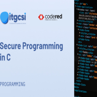 secure programming with C